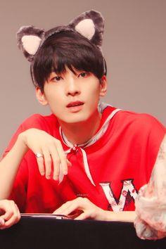 Seventeen Wonwoo, Seventeen Debut, Woozi, Jeonghan, Hip Hop, Vernon Hansol, Korean Boy, Seventeen Wallpapers, Animal Ears