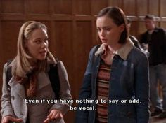 """Make sure your voice is always the loudest one in the room: 24 Important Life Lessons, As Told By Paris Geller From """"Gilmore Girls"""" Gilmore Girls Fashion, Gilmore Girls Quotes, Team Logan, Glimore Girls, Laugh Track, Lorelai Gilmore, Important Life Lessons, Film Quotes, Quotes Quotes"""