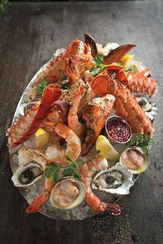 Shellfish Seafood Platter - Taste My Recipes