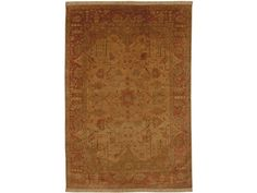 Shop for Thomasville Gianna - Gold/Rust/Ginger Rug - 9'x13', 61104-1021, and other Floor Coverings Rugs at Goods Home Furnishings in North Carolina Discount Furniture Stores. 100% Semi-Worsted New Zealand Wool.