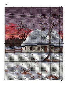 Cottage in the winter 3/3