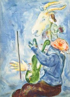 Spring, Original Lithograph, Marc Chagall #Expressionism