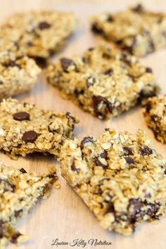 Slow Cooker Oatmeal Chocolate Chip Cookie ~ ~ Lauren Kelly Nutrition #glutenfree #flourless #healthy