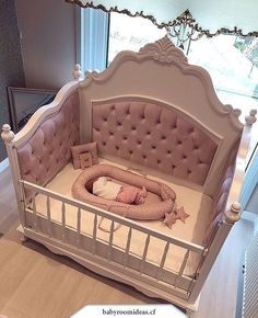 50 Inspiring Nursery Ideas for Your Baby Girl - Cute Designs You'll Love Get inspired to prepare and create the perfect room for your baby girl. These baby girl nursery ideas can help you create a cute girly room style. Baby Bedroom, Baby Room Decor, Girls Bedroom, Trendy Bedroom, Baby Girl Bedroom Ideas, Nursery Inspiration, Nursery Ideas, Babyroom Ideas, Daily Inspiration