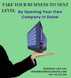 Taking your #Business to the Next #Level - #Setting up your Own #Company with #Business Link The #government of #Dubai provides wide range of business #setup options that includes company #formation in #Free #Zone, Dubai #Mainland, #branch #office, #offshore company etc.