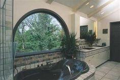 półokrągłe okno