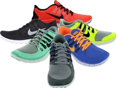 #nike free 5.0 - a minimal barfoot running shoe which doubles as a great zumba shoe - great design selection