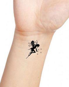 Tatouage fée | tatouage | Pinterest