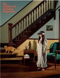 The California Sunday Magazine, debut issue cover. Creative director: Leo Jung, photograph: Holly Andres.