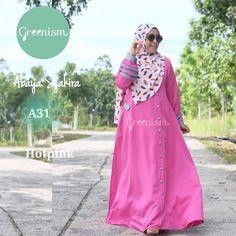 Gamis Greenism Abaya Syakira A31 Hot Pink - baju muslim wanita baju muslimah Untukmu yg cantik syari dan trendy . . - Bahan balotelly - Busui bumil dan wudhu friendly - Hiasan di pergelangan tangan - Kancing bukaan dada selebihnya kancing hiasan - 1 Kantong aktif - Tidak termasuk hijab . . Size chart: XS: LD 90/PB 130 S: LD 95/PB 135 M: LD 100/PB 138 L: LD 104/PB 140 XL: LD 110 /PB 142 . . Ready size XS S L XL Harga Rp 250.000 (gamis saja) . . Yuuk pesan sekarang juga hanya di Gamis Hijab…