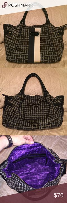LOWEST PRICE 😃Kate Spade tote No offers on this bag, please. Lowest price and it's a great price! This bag is lovely! Kate Spade tote. Authentic. Good used condition. Completely clean inside, could use a cleaning of the outside. No stains or rips. This is a bargain! kate spade Bags Totes