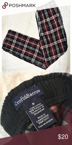Croft & Barrow • Plaid PJ Pants Croft & Barrow • Plaid PJ Pants. Size small. NWOT. croft & barrow Intimates & Sleepwear Pajamas