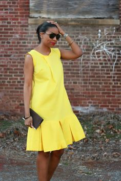 Beaute' J'adore Simple Outfits, Simple Dresses, Casual Dresses, Short Dresses, Latest African Fashion Dresses, African Dresses For Women, Shift Dress Outfit, Special Dresses, Fashion Fabric