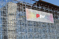 Superimposing of PPS mesh scaffolding banner on construction building Scaffolding, Product Photography, Banner, Mesh, Construction, Building, Image, Banner Stands, Buildings