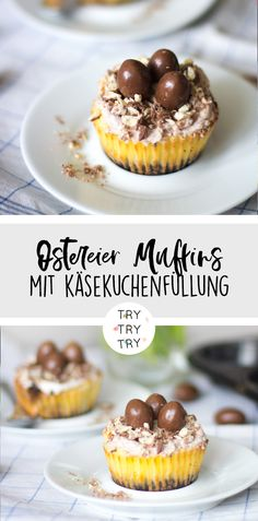 Easter basket cupcakes with chocolate sweets - Easter baking / baking Easter / Easter rec . - Easter basket cupcakes with chocolate sweets – Easter baking / baking Easter / Easter recipes / Ge - Easy Cake Recipes, Healthy Dessert Recipes, Easy Desserts, Smoothie Recipes, Baking Recipes, Health Desserts, Brunch Recipes, Vegetarian Recipes, Baking Tips