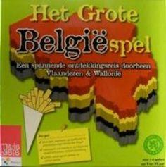 HET GROTE BELGIESPEL : EEN SPANNENDE ONTDEKKINGSREIS DOORHEEN VLAANDEREN & WALLONIE. Dit spel neemt je mee op een spannende reis langs bekende Belgen, uitvindingen, historische gebeurtenissen, streekspecialiteiten, heuvels en rivieren, het koningshuis en de staatkundige structuur van België. Het bevordert algemene, geografische en geschiedkundige kennis van België, stimuleert het inzicht in de Belgische staatsstructuur en de besluitvorming en oefent strategisch denken en samen spelen.