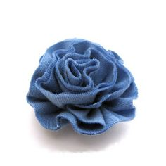 How to Make a Ruffle Fabric Flower