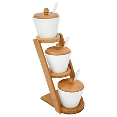Trio Sauce Set Wooden at wilko.com loved this for ages