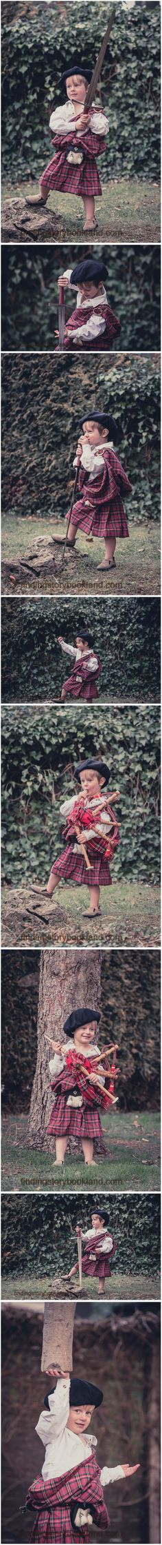 A simple tutorial for a Scottish Great Kilt costume and photo shoot. Perfect for Outlander or Braveheart LARP or COSPLAY. From findingstorybookland.com
