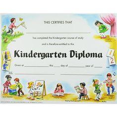 diploma ideas kindergarten - Cerca con Google