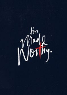 "I'm Made Worthy - inspired by the song ""I'm Made Worthy"" by Mosaic Music From the album ""You Surround"" by Mosaic Music NZ ""I'm made worthy, because You died for me. Forever we will sing, Holy Holy Holy!"" * * * View the original ""365 Worship Project!"" Follow us on Instagram @the365worshipproject Follow us on Facebook theworshipprojectofficial"