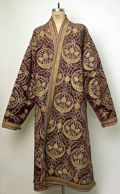 Bokharan coat late 19th-early 20th century.