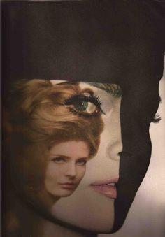 Diane Arbus by Melvin Sokolsky for Harper's Bazaar April 1964