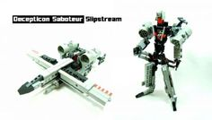 Decepticon Saboteur: Slipstream :: Licensed Themes/Themes I Wish Where Licensed. Not really based on any existing version of Slipstream. Lego Transformers, Themes Themes, Lego Models, Lego Creations, Amazing