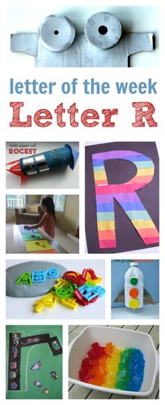 letter of the week curriculum letter r