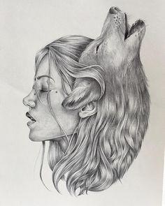 The Wolf is my spirit animal. :)