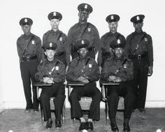 """In Atlanta hired it's first eight African American police officers. They were """"police officers"""" but they could not drive squad cars, step foot in police headquarters, or arrest white citizens. Atlanta Police, Women In Africa, Black Leaders, Black Entrepreneurs, African Diaspora, White People, African American History, Black Is Beautiful, Police Officer"""