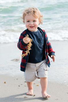 Boy on the beach...