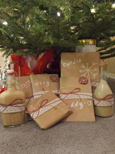 Use Grocery Sacks as wrapping paper - cheap, easy and green :)