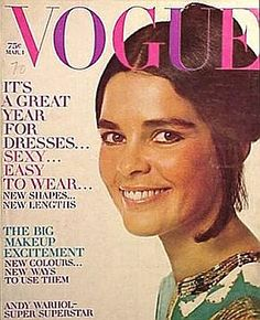 Ali MacGraw.  Vogue, March 1970.
