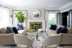 It has been too long since we featured the designs of Jenn Pablo and Olivia Korenberg of interiors and events firm Twofold LA. They are still rocking spaces with their super casual and cozy yet super