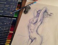 Selected Sketches. / Seçilmiş Eskizler. by Soner Demirel, via Behance