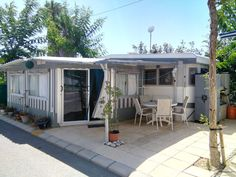 Rare Static Touring Caravan For Sale In Benidorm With Cheap Site Fees Paid Until November 2016! Hobby Landhouse Static Caravan With Expensive Ben Eiller Fixed Awning For Sale On Camping Almafra Car…