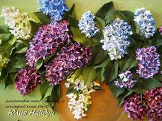 Объемное панно с цветами