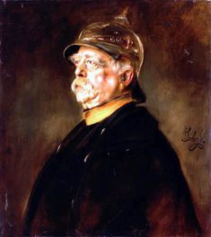Bismarck Otto Von Bismarck, Portraits, Paintings, Germany, Historia, Paint, Head Shots, Painting Art