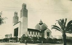 Cathedrale Saint Pierre, Rabat Maroc, built in 1921 by Adrien Laforgue