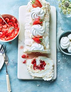 Our Eton mess roulade recipe gives the classic summer dessert a makeover, giving you two puds for the price of one! Strawberries and cream are a match made in heaven and this is the perfect prepare-ahead and gluten-free dessert for summer parties.