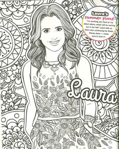 Free Liv And Maddie Coloring Pages