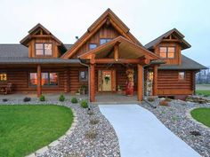 Looking for the personification of western living.... Search for that dream home at LogHome.com: Your Guide to Log Homes and Log Cabins