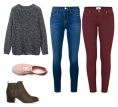 """""""university"""" by almendra-1601 on Polyvore featuring Toast, Frame Denim, Paige Denim, Vans and Office"""
