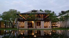 Exterior, Anantara Chiangmai Resort & Spa, City, Charoenprathet Road, Chiang Mai, Thailand.