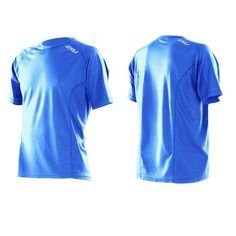 2XU Active Run S/S Top - Blue Scurro