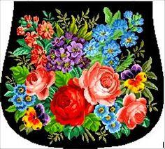 Gallery.ru / Фото #84 - Berlin woolwork. Floralneedlepointdesigner. Платные схемы. - Nadezhda2014