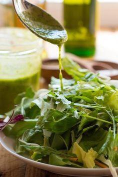 sos do sałaty wg Agaty Raw Food Recipes, Salad Recipes, Vegetarian Recipes, Cooking Recipes, Healthy Recipes, Salad Sauce, Homemade Sauce, Food Design, My Favorite Food