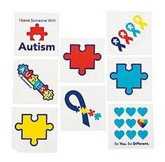 Znalezione obrazy dla zapytania autism awareness tattoo