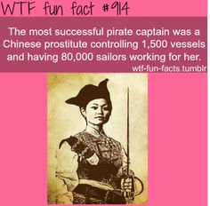 If this is true, it may just be the best thing I have ever heard! Pirates of the Caribbean: At World's End had a Chinese lady pirate...